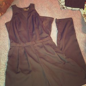 Tailored Black Jumpsuit